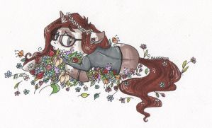 but flowers used to make me happy by Maslozerca