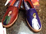 Dr. Horrible Sing along shoes! by ms-guppy