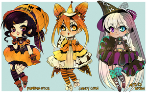 OPEN: HALLOWEEN TREAT ADOPTABLE AUCTION by Lolisoup