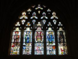 Stained Glass Windows of Exeter Cathedral No. 1 by Kitsune-Akki