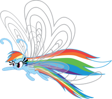 Rainbow Dash Breezie Post Show Airing by benybing
