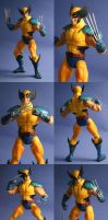 Wolverine with steel claws by Mace2006