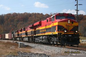 KCS 4683 at Anderson Missouri by labrat-78