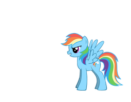 Pony Creater: Rainbow Dash by Nukarulesthehouse1