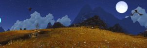 Azeroth Two Moons at Kunlai Summit by Athena-Erocith