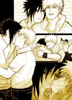 SasuNaru: Bastard and Sunshine by MuseSilver