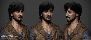 Uncharted - AtoqNavarro Character Sheet by Rhythem02
