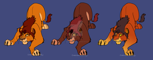 Cheap Male lion adopts*CLOSED by Cynderthedragon5768