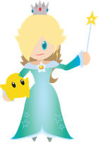 Chibi Rosalina Vector by ViralDrone