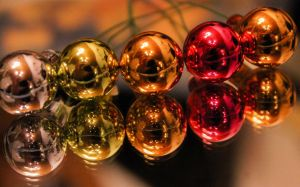 Christmas balls by youchangedme