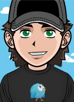 Manga Me Twitter T-Shirt by brunodarkdevil