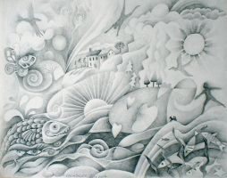 dreamscape drawing by karincharlotte