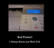 bad printer by yq6