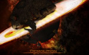 Wallpaper - Dmolition by Clownassasin
