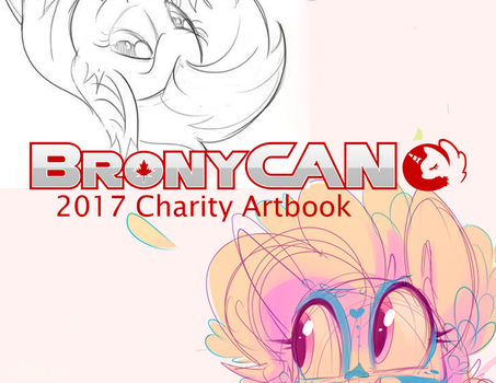 2017 BronyCAN Charity Artbook! by CrescentScript