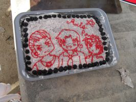 APH cake: Axis Powers by Jei-Muffin