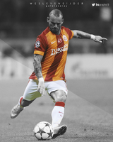 Wesley Sneijder by bsgraphic9