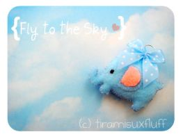 Fly to the Sky . . . by tiramisuxfluff