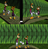 Models - Rayman old meets new by Multimagyar