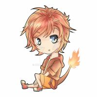 pokemon gijinka: chibi charmander by NIkly