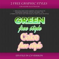 FREE Graphic Styles for Adobe Illustrator #12 by Love-Kay