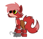 MLP: Foxy the Pirate by Skythepony123