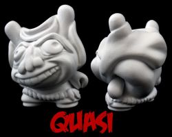 Dunny Monster : DIY Quasi by zombiemonkie