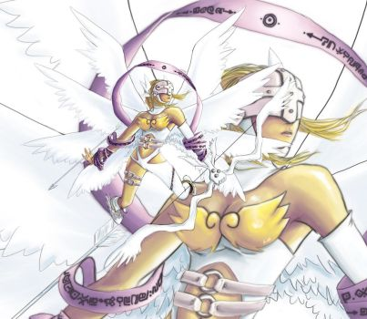 Angewomon by a-ray