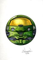 CircleToon: Master Chief by Fellhauer