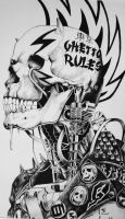 Cyber Punk- Punk Is Dead Ghetto Rules by JamesMacGee