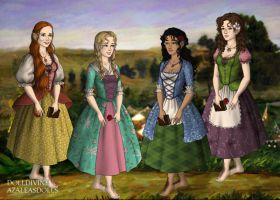 Friends In Hobbiton by Skyred8604