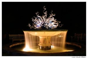 Chihuly Fountain by invisikitty
