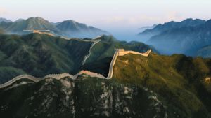 Great Wall of China Background by TheMuteRobot