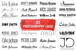 Free 25 Minimal Logo For Photographers by symufa
