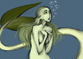 Mermaid 2 by A-Griffin-And-Duck