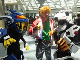 Anime Expo Day 4-  Zoids Team (2) by MidnightLiger0
