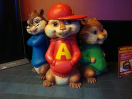 alvin the the chipmunks 2 by DonnaDV87