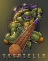Donatello TMNT by Sajad126