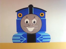 Thomas on the Wall by Sikorax