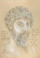 Portrait of Marcus Aurelius by Dunn95