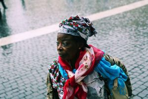 old woman by cagriilban