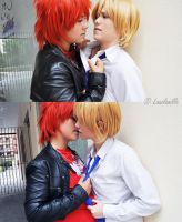 Nathaniel x Castiel My Candy Love by LauzLanille