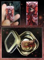 Glass Pendant - Passion of Sca by neondragon