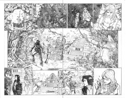 Artifacts 8 page 8-9 Top Cow Talent Hunt 2014-2015 by MarkReindeer