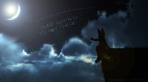 Our World Is Out There by Snow-Fangs