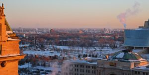 Crisp Cold Winnipeg Morning by zootnik