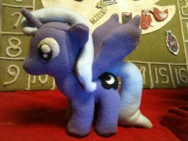 Filly Princess Luna Plush by DisneyKitten96