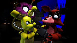 [GIFT] Birthday Spooks (SFM Poster) by ChibiHearts249