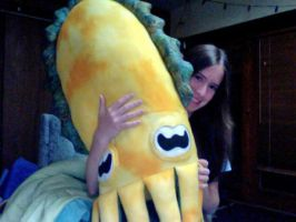 Cuttlefish Plush (crappy picture) by jadestonethedragon