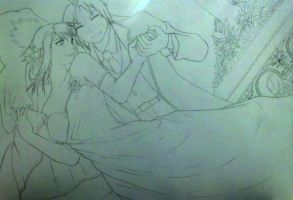 EdxWinry - Wedding Day WIP by Lord-Plankton